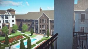 Balcony Rendering for future Springshire residence