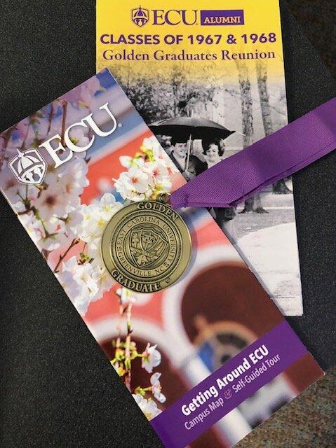 ECU Golden Graduates Reunion Program