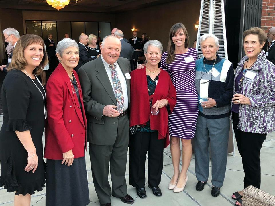 SpringShire Retirement Community team attends Purple and Gold Evening 2018